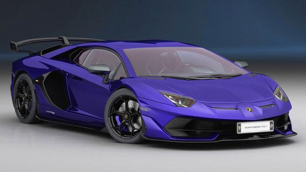 lamborghini aventador svj 2019 3D model