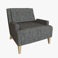 3D hbf perfect pitch lounge chair