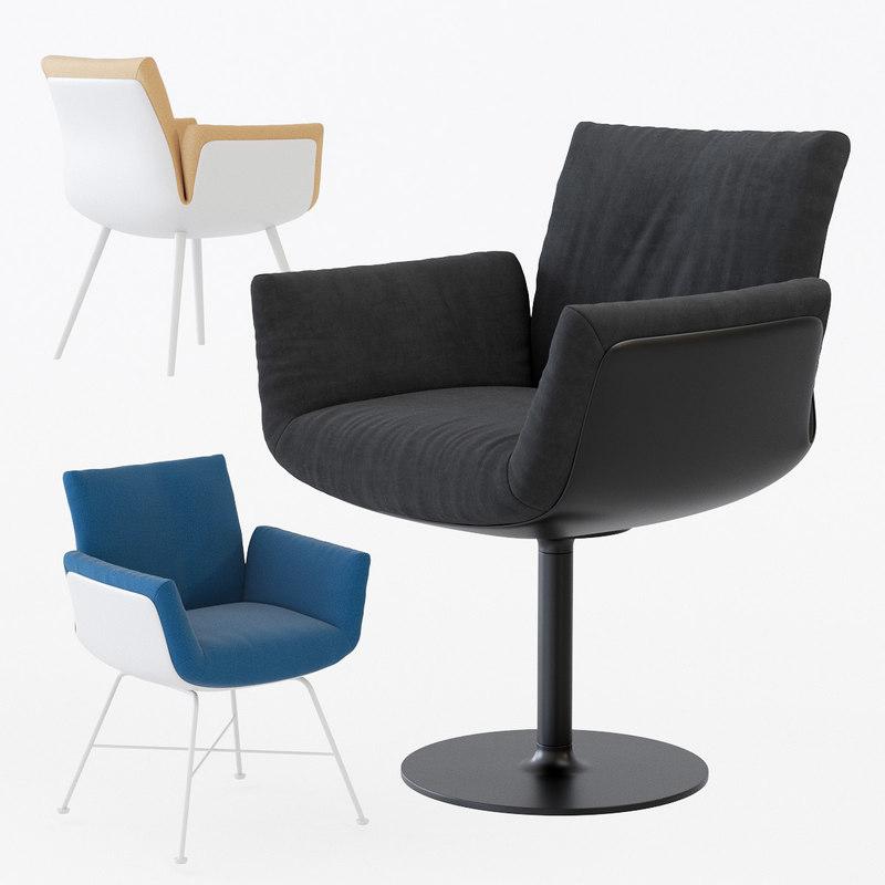 alvo chair 3D model