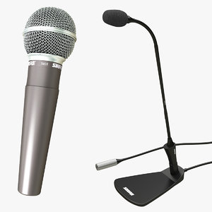 3D microphone conference model