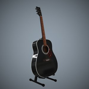3D acoustic guitar stand