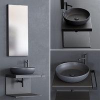 3D multiplo shui washbasin model