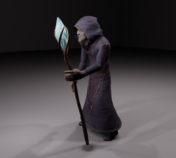 3D magic alchemist old