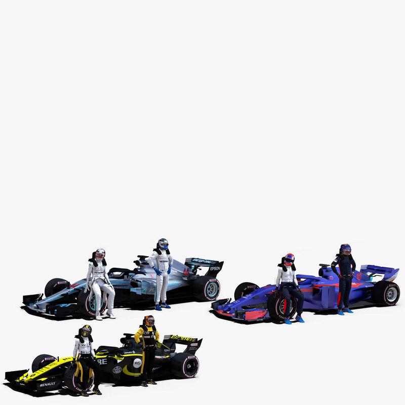 3D 3 formula 2018 1 model