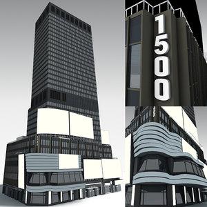 1500 building model