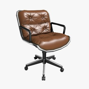 3D charles pollock office chair