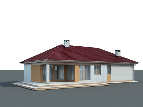 house home cottage 3D model
