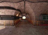 Sci-fi Tunnel Scene II