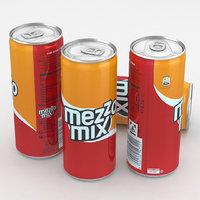 beverage 3D model