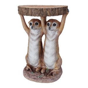 table animal meerkat sisters 3D model