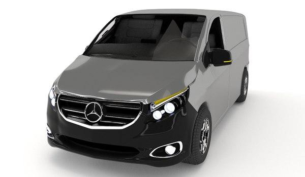 mercedes-benz vito 3D model