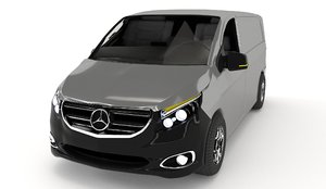 mercedes-benz vito 3D model