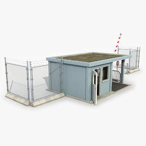 3D guard building