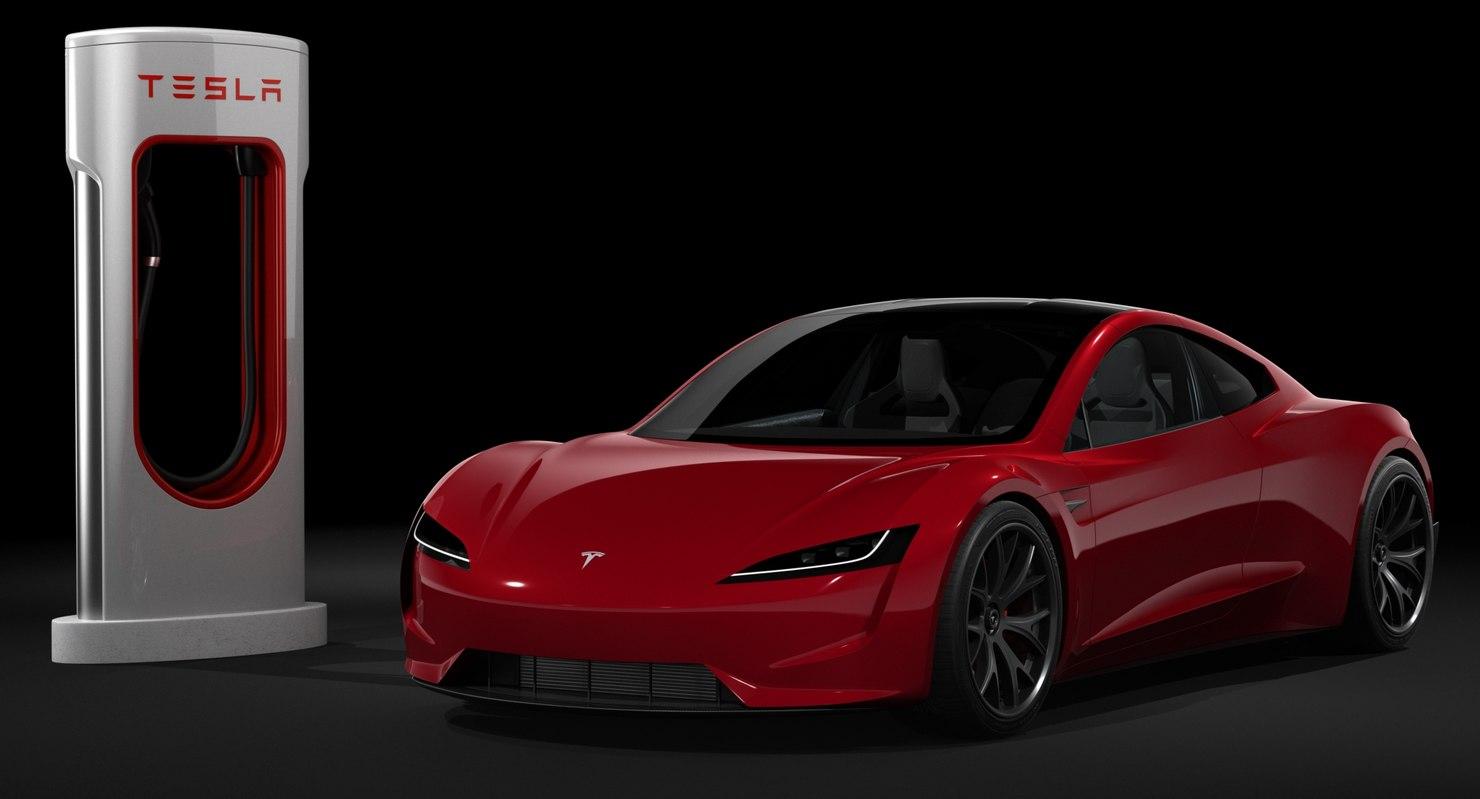 Tesla Roadster Charger 2020 Model
