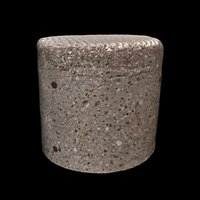 3D concrete stool model