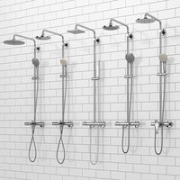 shower systems grohe euphoria 3D model