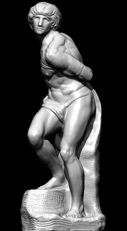 schiavo michelangelo 3D model