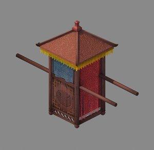 official - transportation wooden 3D model