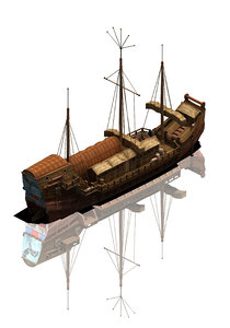 3D large commercial ship 03