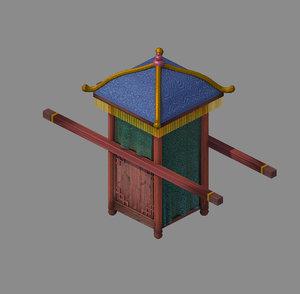 3D official - transportation wooden