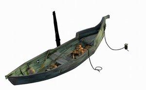 3D beach stranding boat 06