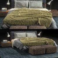 Bed Flexform Adda