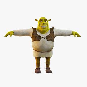 swamp ogre 3D model