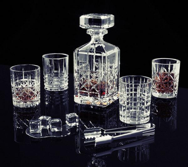 highland whisky set nachtmann 3D model
