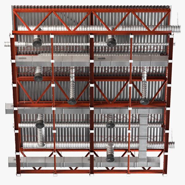 3D ceiling ventilation 26