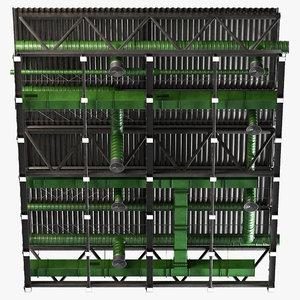 3D ceiling ventilation 27