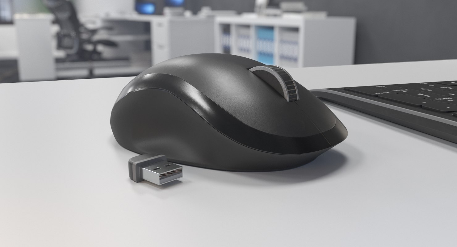 3D wireless mouse