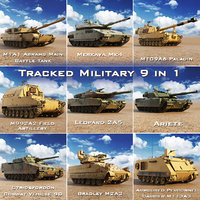 Tracked Military 9 in 1 Tanks