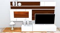 small interior design 3D model