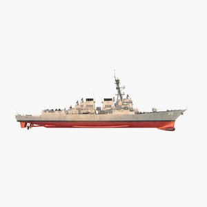 uss mccampbell ddg 3D model