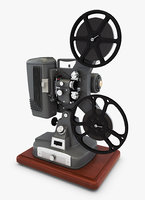 retro projector 8mm model