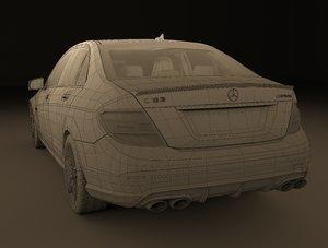3D mercedes benz c63