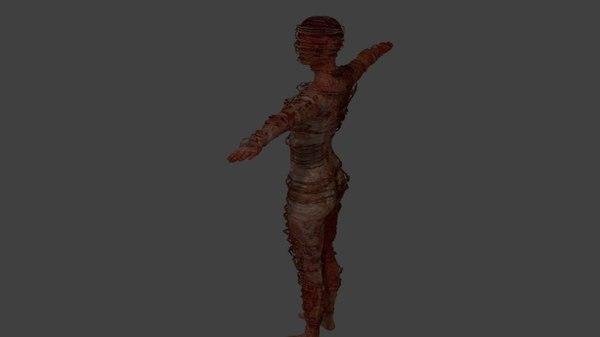 3D monster girl