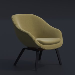 hay lounge chair 3D