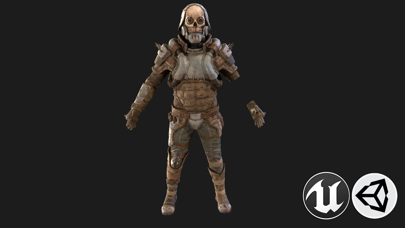 3D cloth suit
