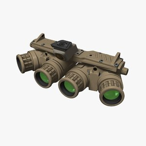 3D model night vision goggle
