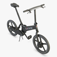 3D gocycle g2 portable electric