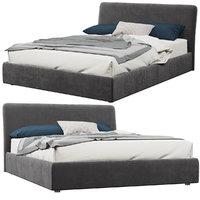 bonaldo tonight bed 3D model