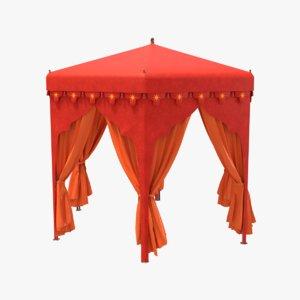 arabian tent 3d model