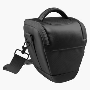 canon camera bag 3D model