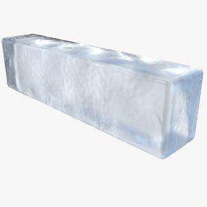 3D ice block