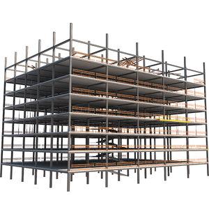 3D model construction industrial