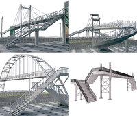 predestrian bridge 1 3D