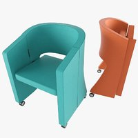 auditorium chair 3D