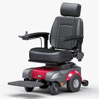 3D power wheelchair sunfire model