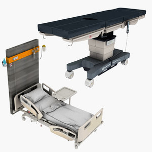 operating table hospital bed model